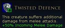 TwistedDefenceMelee