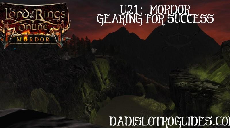 U21:  Mordor – Gearing For Success