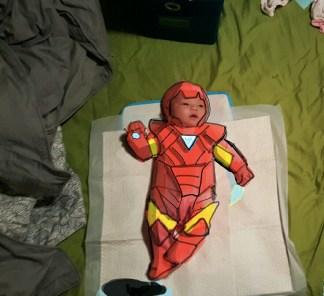 I Am Iron Baby