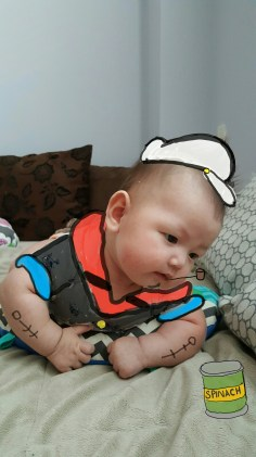 Popeye the Sailor Baby