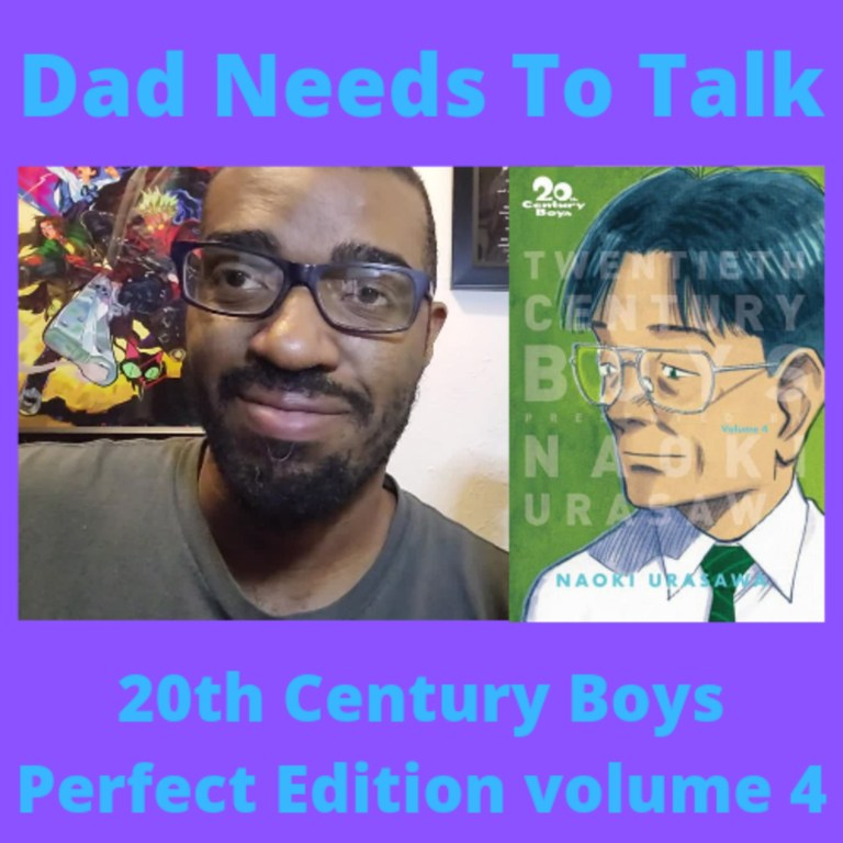 Manga Review Talk: 20th Century Boys Perfect Edition volume 4