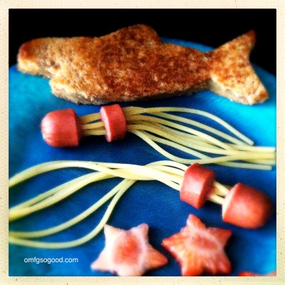 EAT YOUR HEART OUT #4:  Hot Dog Jellyfish.