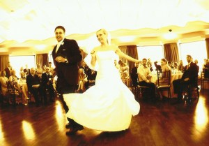 Wedding day dance