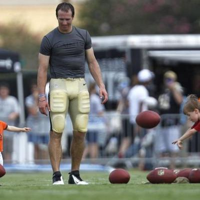 An Interview with the New Orleans Saints' Drew Brees.
