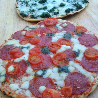 Grilled Pizza and a 4th of July Giveaway!