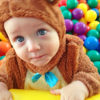 Mason's First Birthday Party Was a Real Bear.