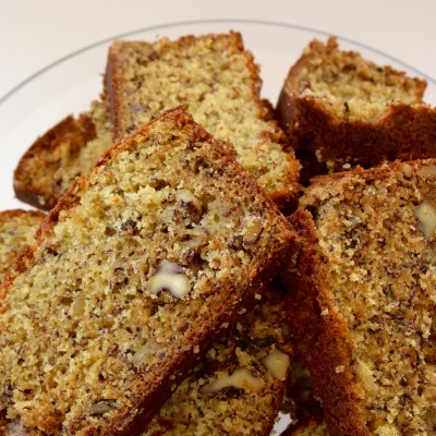 Bangin' Banana Nut Bread.