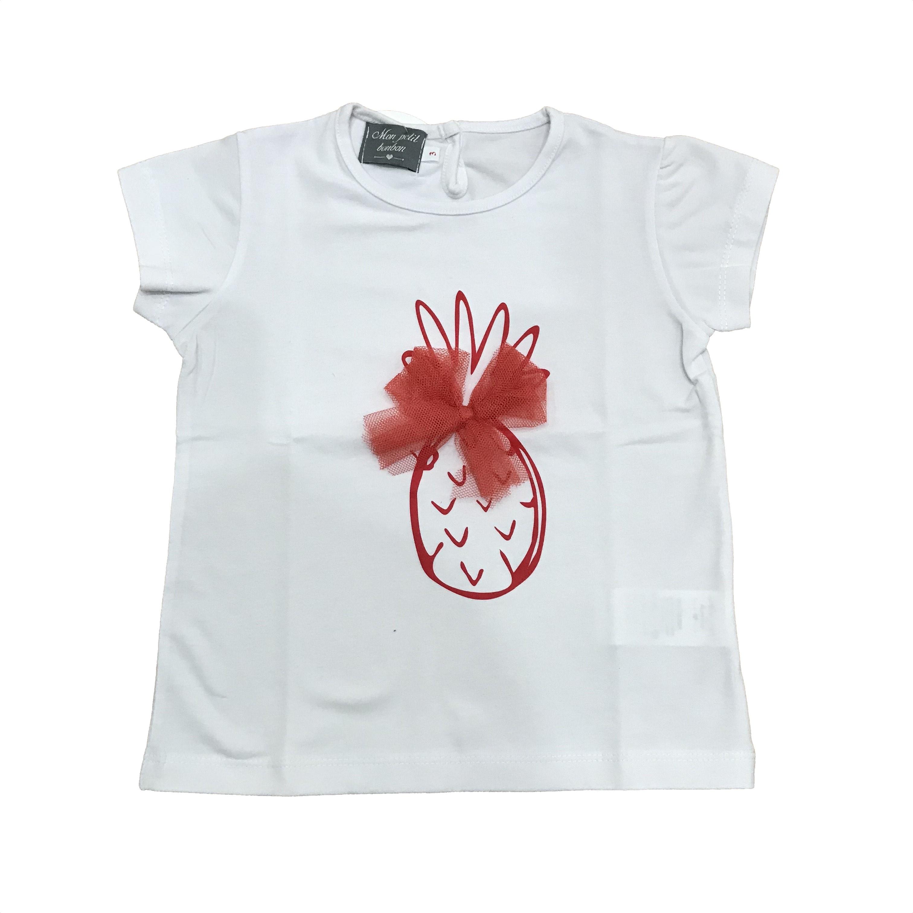Petit Infantil Camiseta Dados Piña Niña Mon Bonbon Moda 4gwqOg 0d823fe24fc