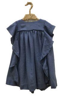 Mía y Lía vestido azul jean