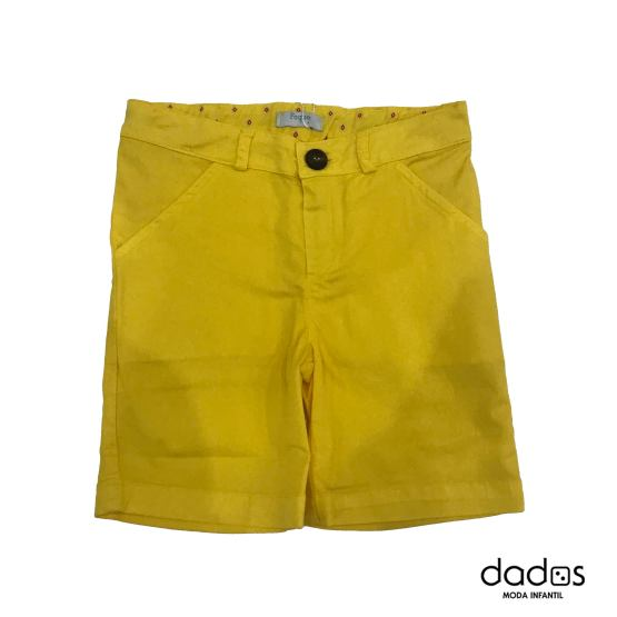 Foque bermudas amarillo Colección Nápoles