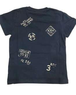 IDO Camiseta niño azul marino