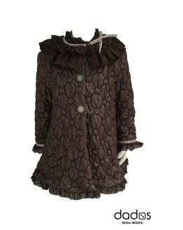 Lolittos abrigo colección nogal