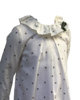 Eve Children vestido estampado de estrellas detalle