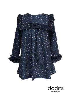 Mon Petit Bonbon vestido estampado estrellas