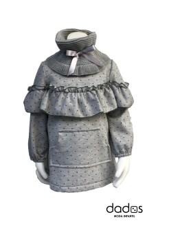 Para Sofía colección Esmeralda vestido gris