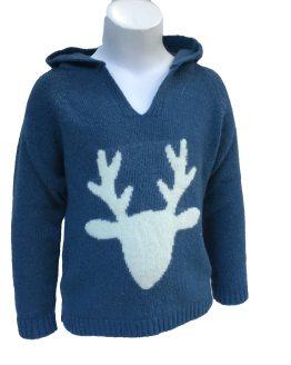 Ancar jersey reno azul detalle