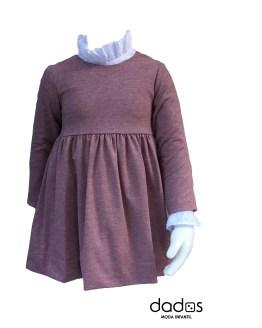 Ancar vestido berenjena