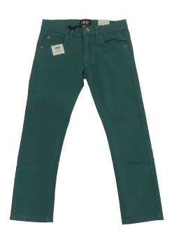 IDO pantalón loneta verde