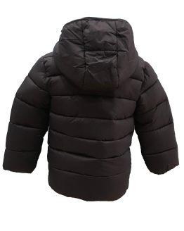 IDO chaquetón acolchado niño azul marino detalle capucha y toma trasera