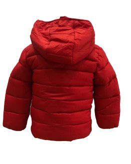 IDO chaquetón acolchado niño rojo