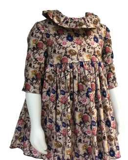 Bamboline colección Argay vestido detalle tejido