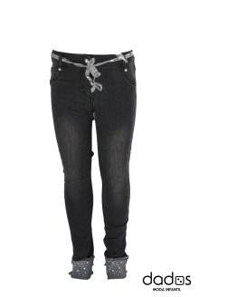 Elsy pantalón tejano gris