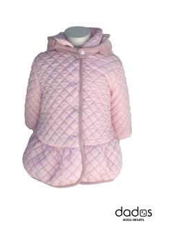 Coco Acqua abrigo acolchado rosa
