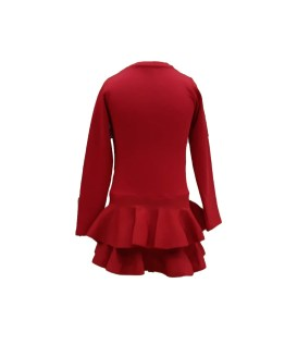 Espalda Fun Fun vestido rojo