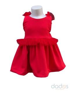 Mon Petit Bonbon vestido rojo