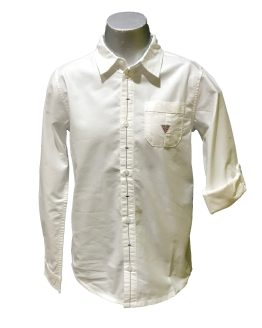 GUESS camisa chico blanca