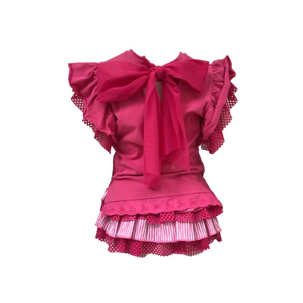 Espalda Lolittos colección Flamenco conjunto short