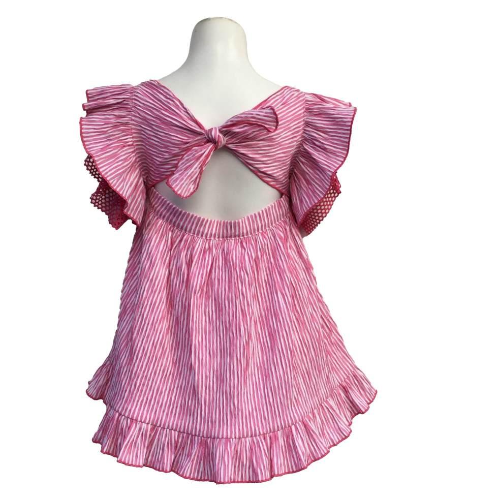 Espalda Lolittos colección flamenco vestido