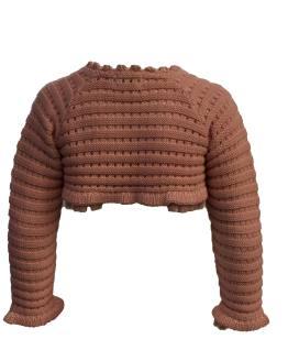 Lolittos colección trigal chaqueta calada