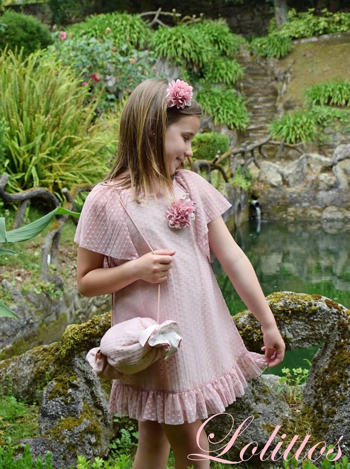 Lolittos colección trigal vestido recto