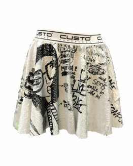 Custo Barcelona falda lentejuelas