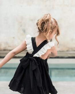 Manuela Montero vestido Ana negro