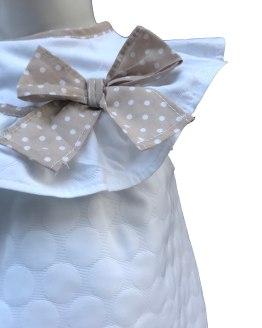 Detalle Coco Acqua blusa topos relieve y braga