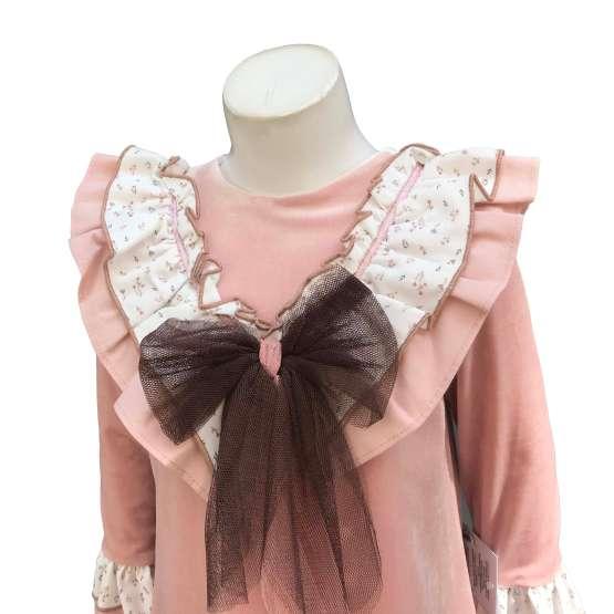 Detalle Marta y Paula colección Cuco vestido rosa