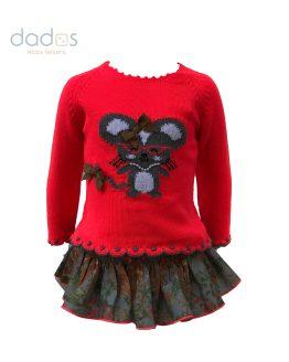 Lolittos colección Dahlia conjunto jersey y cubre