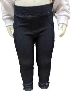 Patnalón detalle IDO conjunto bebé legging y sudadera oso