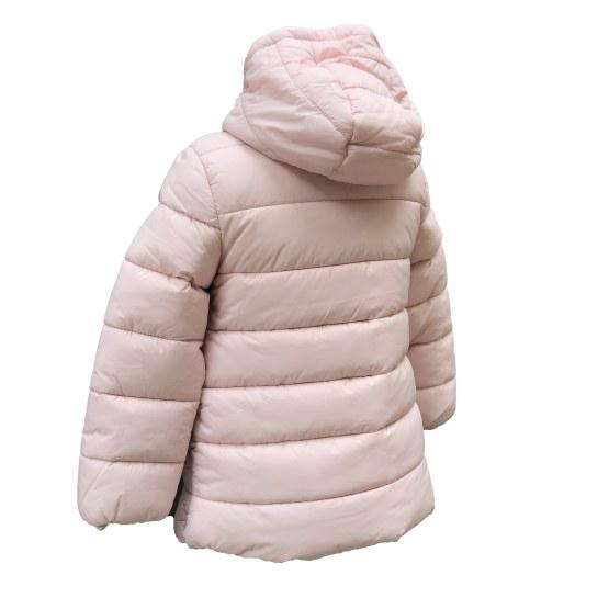 Espalda IDO chaquetón acolchado rosa
