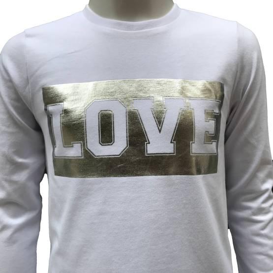 IDO conjunto 3 piezas legging y sudadera gris Ready detalle camiseta