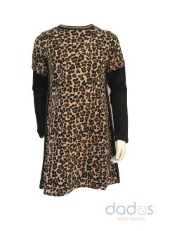 IDO vestido animal print