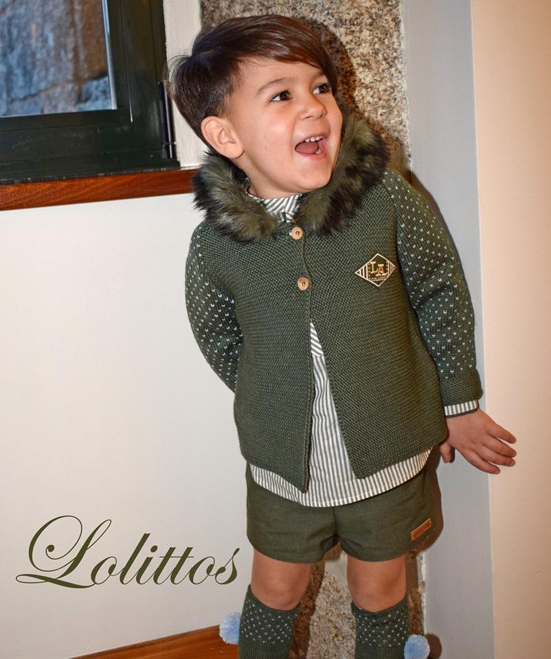 Catálogo Lolittos colección Dumbbo chaqueta niño