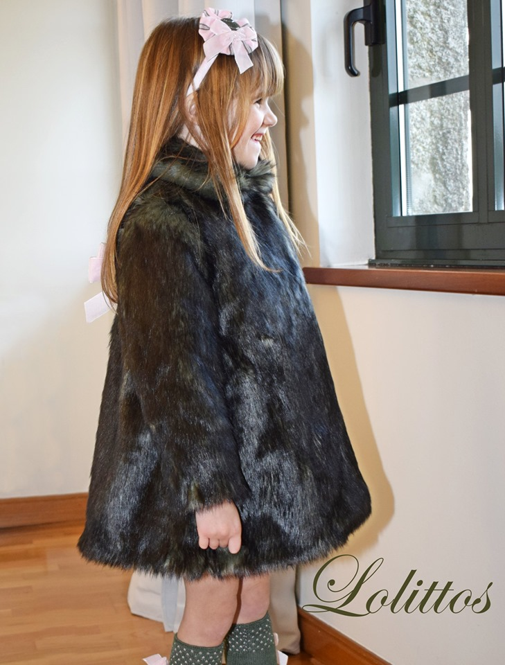 Lolittos colección Dumbbo abrigo de pelo catálogo