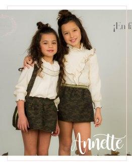 Catálogo Para Sofía colección Anette conjunto camuflaje