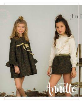 Catálogo Para Sofía colección Anette vestido camuflaje