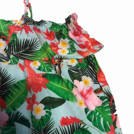 Detalle Outlet Guess blusa flores