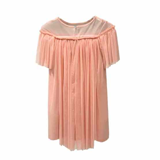 Outlet Sisca vestido rosa espalda