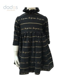 Bella Bimba Bamboline colección Arce vestido cuello alto